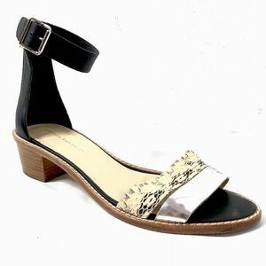 Loeffler Randall Sandals Flats Ankle Strap